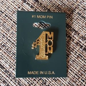 Vintage #1 Mom Lapel Pin Mothers Day NWT
